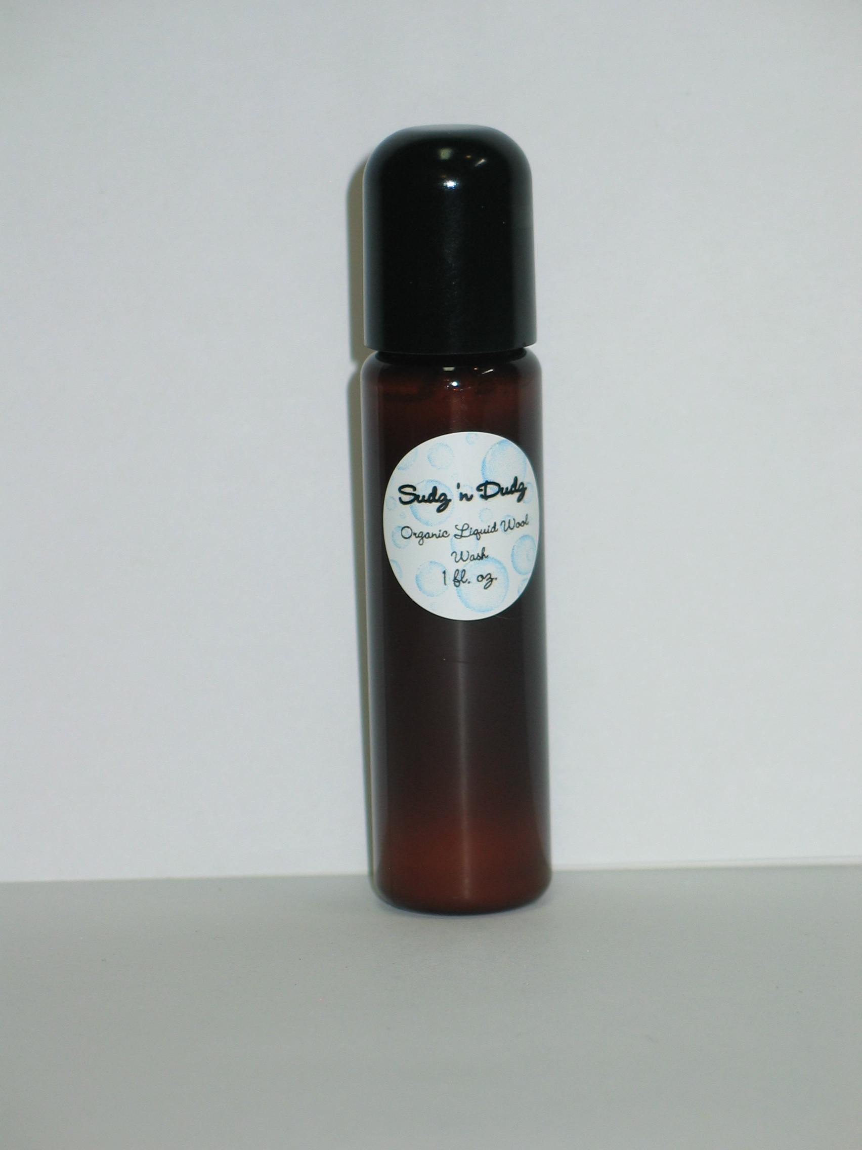 Sudz 'n Dudz Organic Liquid Wool Wash Sample
