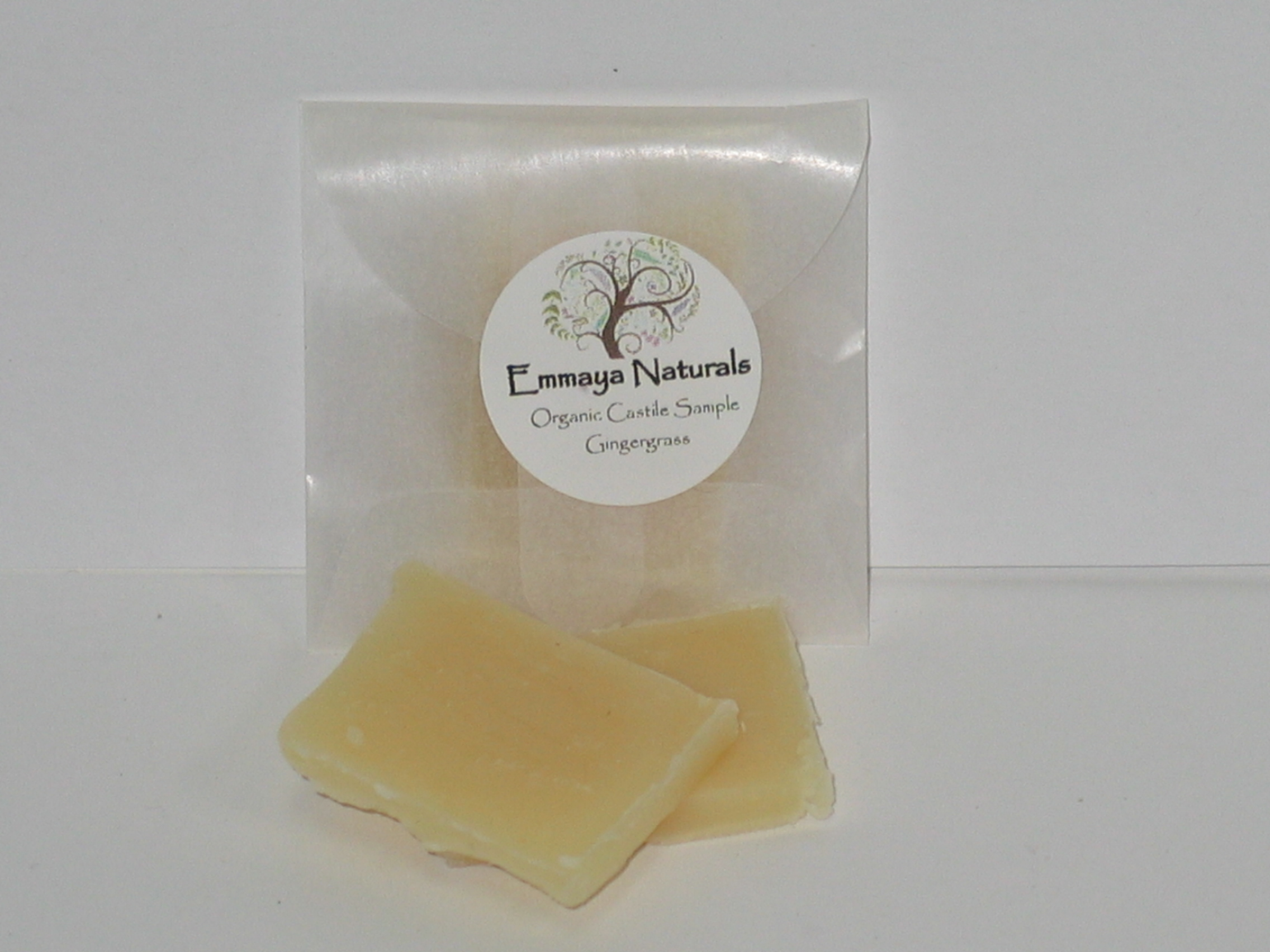 Emmaya Naturals Organic Castile Soap Samples-three dozen